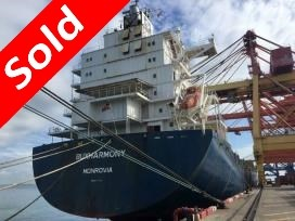 "Sold Container Vessel  MV ""BUXHARMONY"""